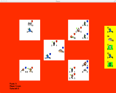 An early prototype of PEACE, one of my personal projects on GitHub.