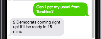 Torchy's Order